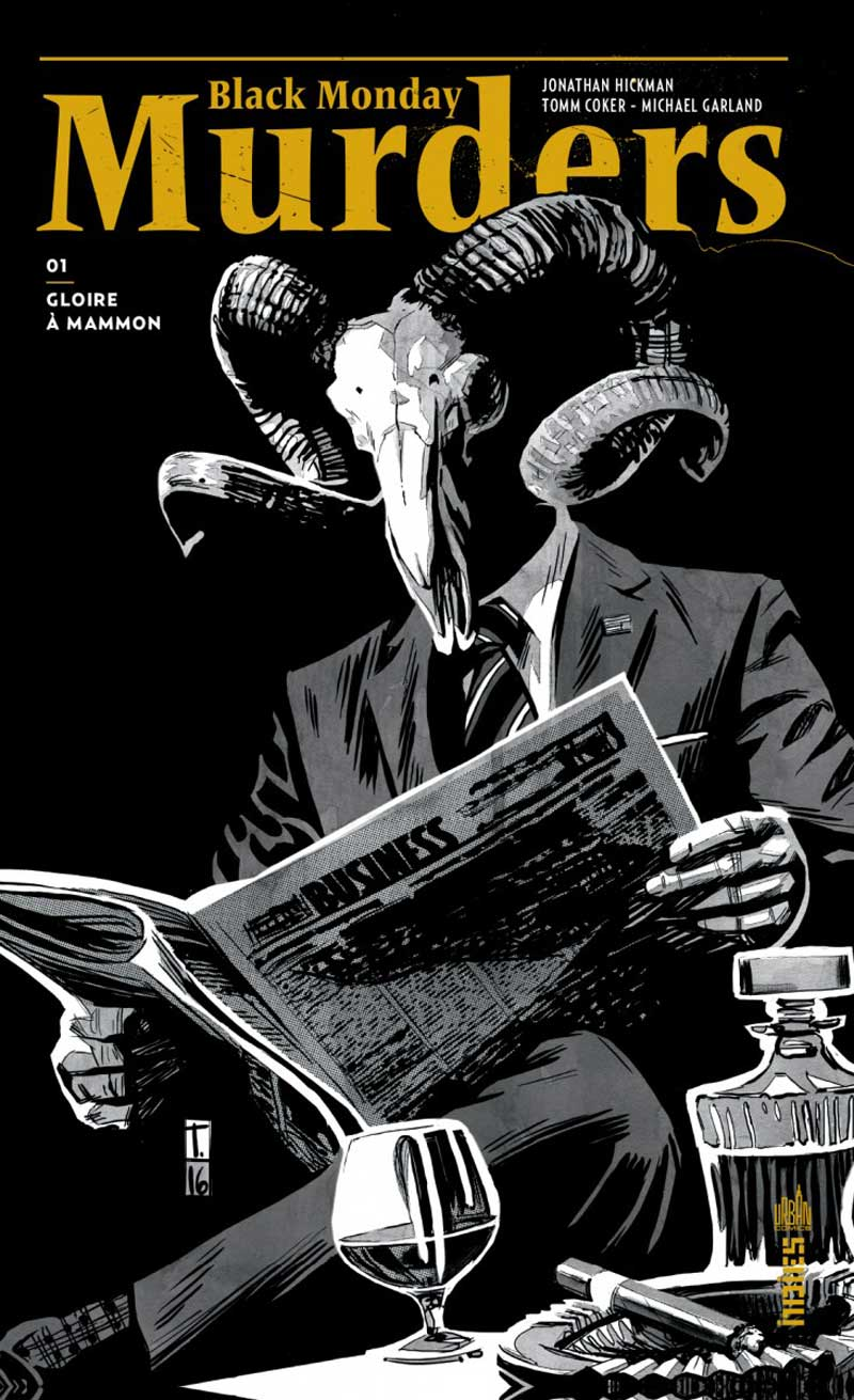 Black Monday Murders T1 Couv